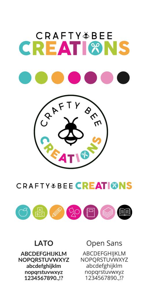 Crafty Bee Creations Brand Board