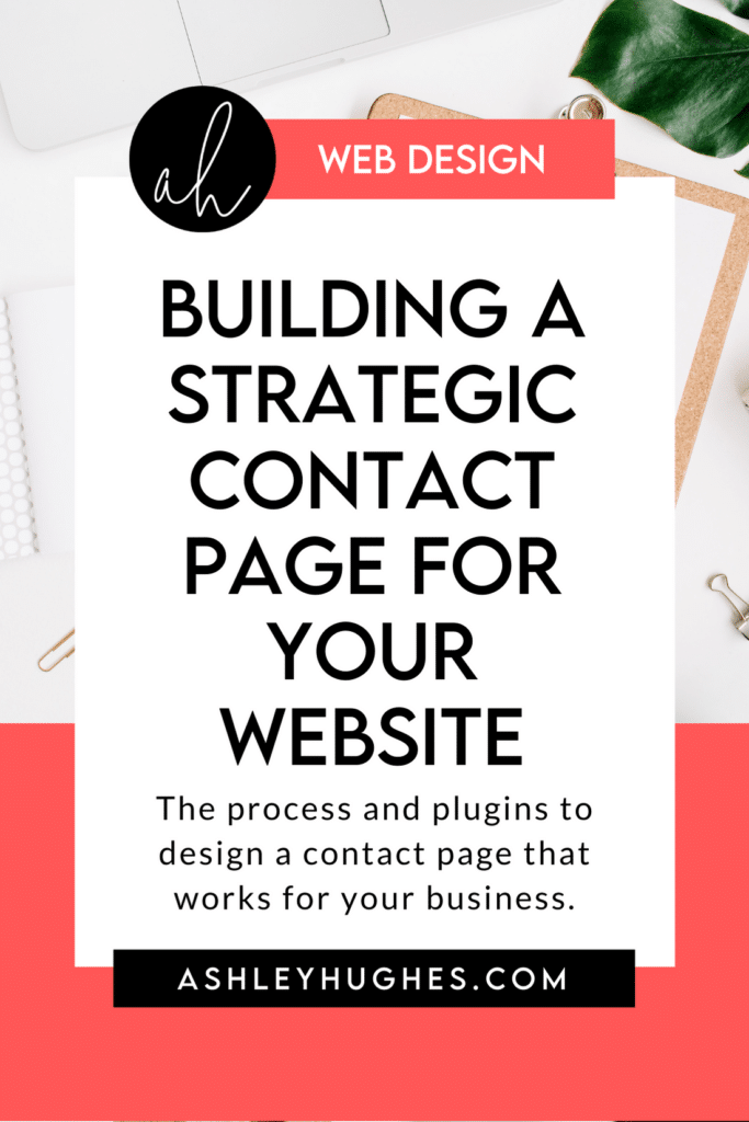 Building a Strategic Contact Page for Your Website
