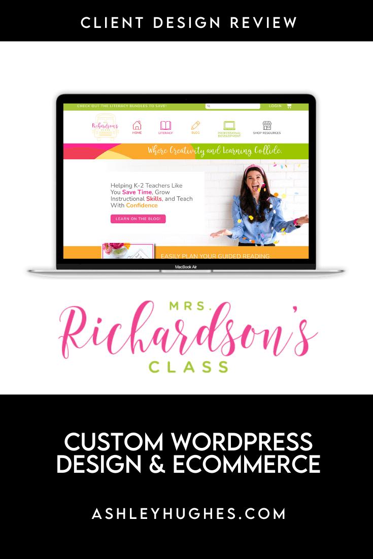 Client Design_Mrs Richardson's Class